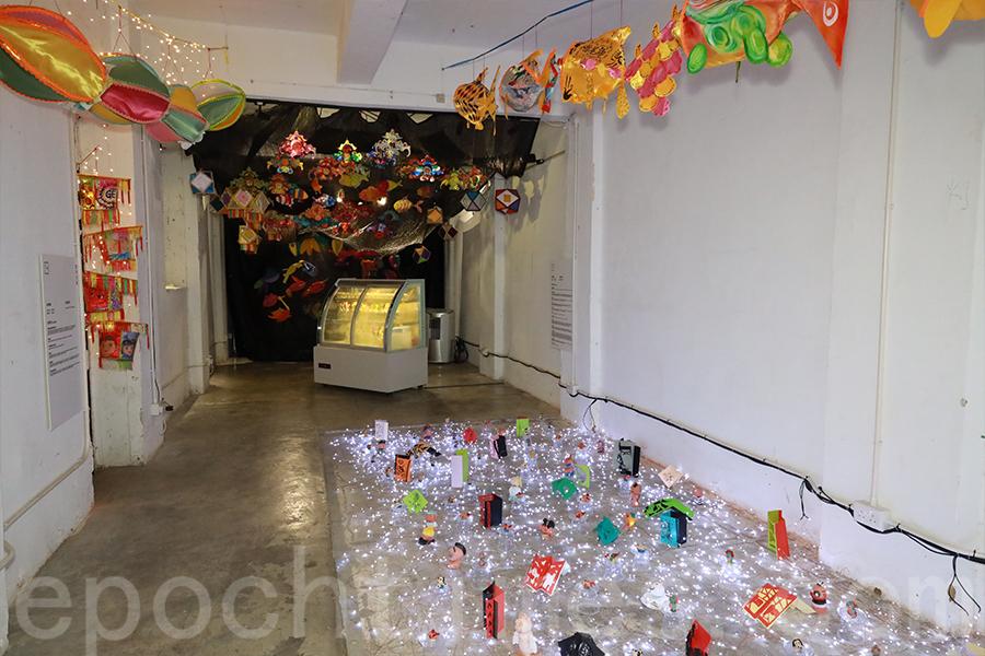 銅鑼灣霎東街9號展廳展品。(陳仲明/大紀元)