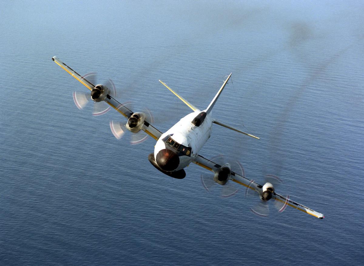 美國海軍EP-3E獵戶座巡邏機(Photo By U.S. Navy/Getty Images)