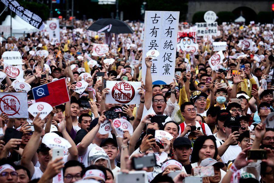 清除赤媒 台陸委會驅逐東南衛視記者