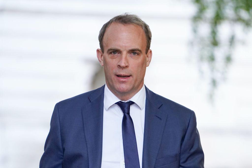 英國外交大臣藍韜文日前宣佈英國將授予持BNO護照的港人居留許可,履行對擁有BNO護照港人的承諾。(NIKLAS HALLE'N/AFP/Getty Images)