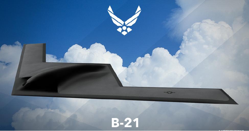 五角大樓計劃在太平洋部署B-21,以確保美軍技術優勢。圖為B-21戰機想像圖。(公有領域)