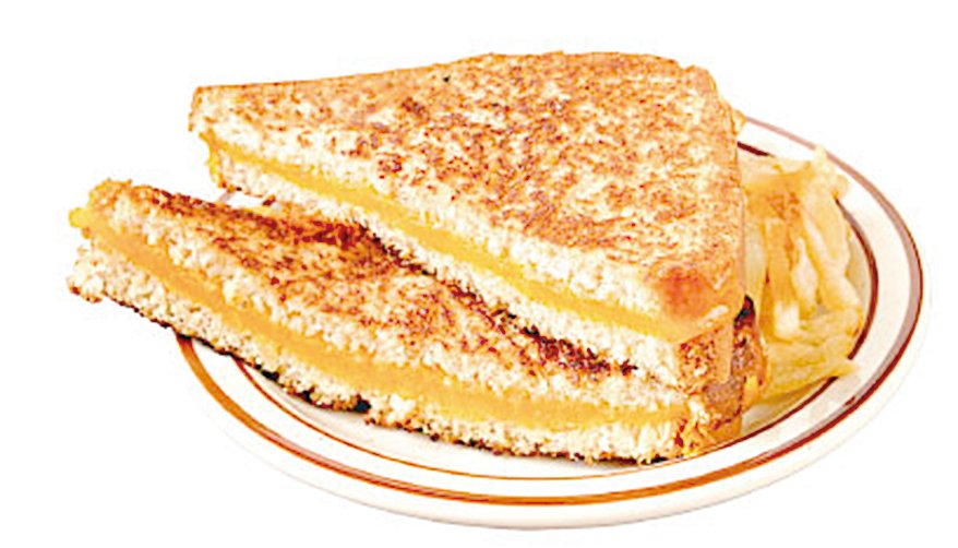 包裹的三文治餡料要夠多,三文治才會好吃。