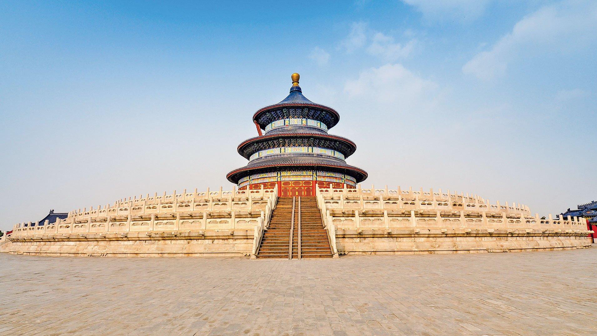 明成祖朱棣營造北京城,為後世留下紫禁城(故宮)、天壇、長陵等充滿帝王氣息和文化內涵的精美建築和帝都。(Fotolia)