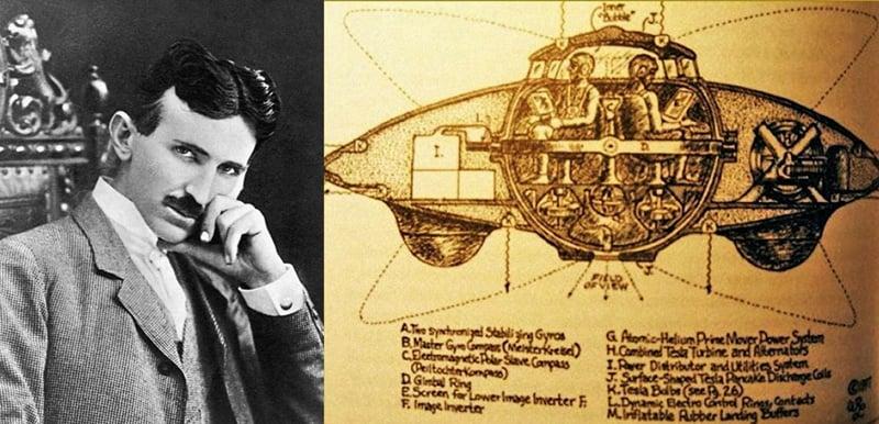FBI解密文件公佈,特斯拉是「金星人」!(合成圖片)