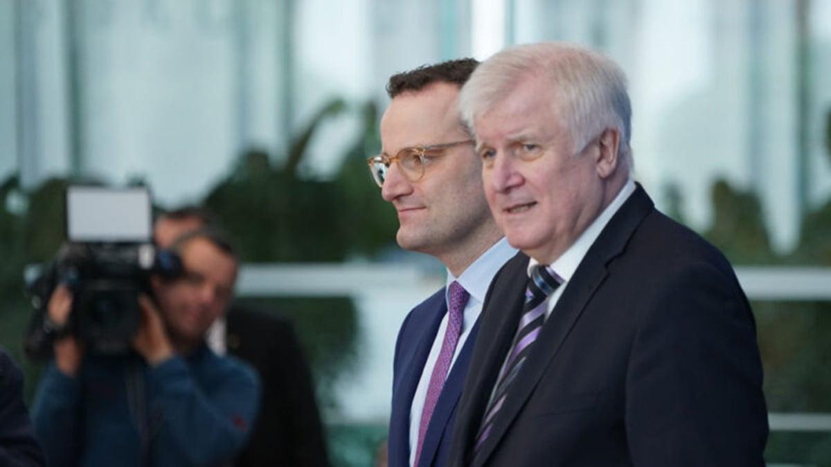 德國聯邦內政部長傑霍夫警告說,要當心來自中國的混合威脅。(Sean Gallup/Getty Images)