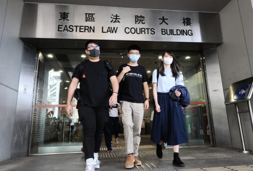 【621行動】周庭:認罪與否屬個人決定 黃之鋒林朗彥拒認罪