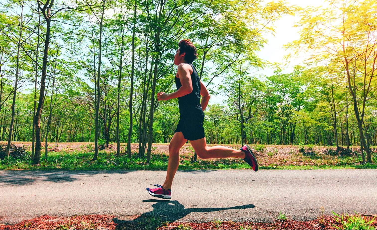 將跑步融入生活後,疲憊感會逐漸消失。