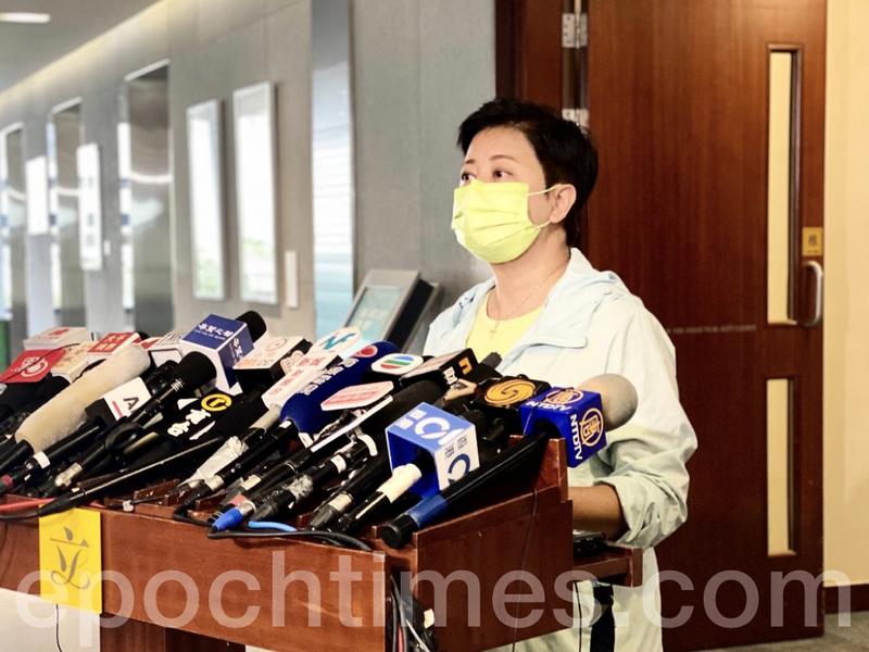 本港現多宗新確診  黃碧雲:至少7萬2千人次豁免入境 政府未確保他們不帶病毒