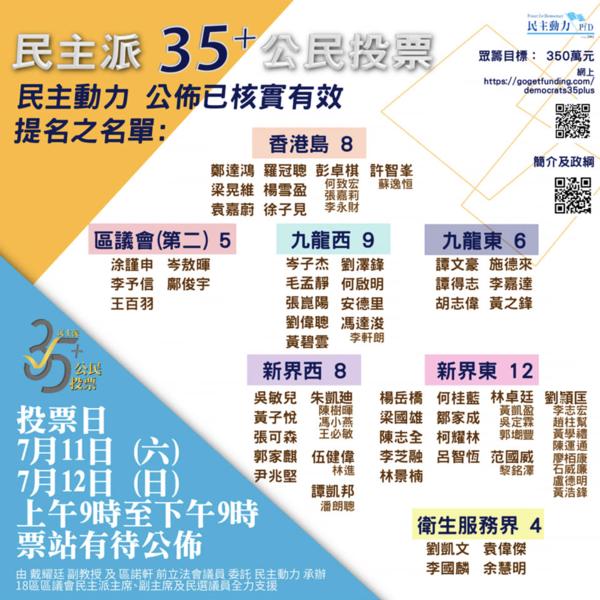 7.11-12 立會選舉初選投票須知
