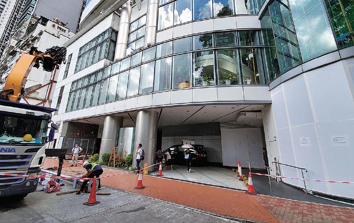 圖片新聞  傳中共駐港國家安全公署 以維景酒店作臨時基地