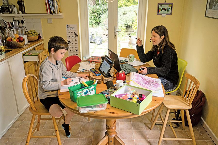 停課在家如何讓孩子 學習不中斷又有收穫
