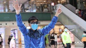 沙田新城市廣場1人「和你lunch」 街坊罵走踩場藍絲