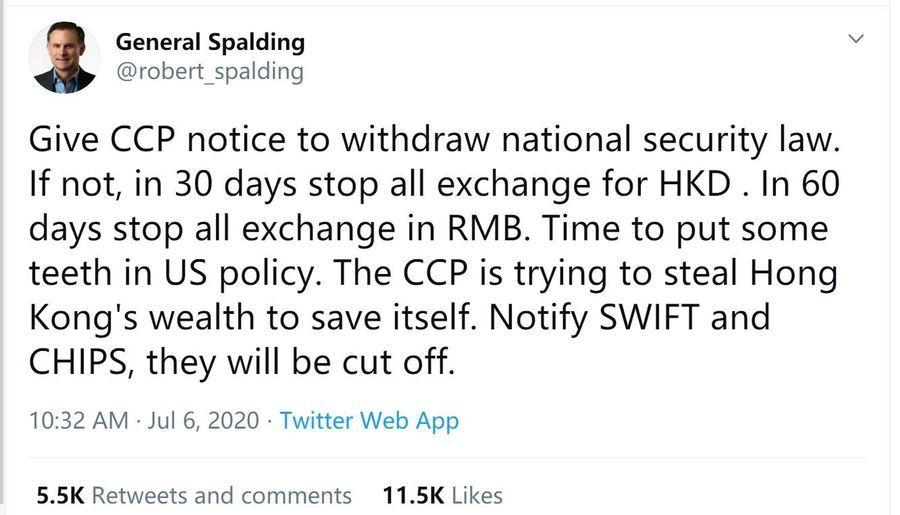 中美高官預熱美元與人民幣脫鉤 對喊誰怕誰