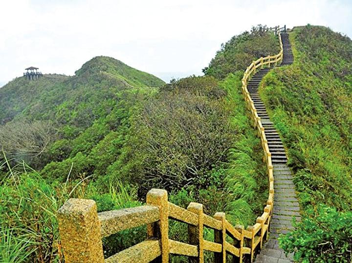 放飛心情盡享台灣山海步道