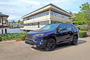 越野與市區的Hybrid 2020 Toyota RAV4 Hybrid