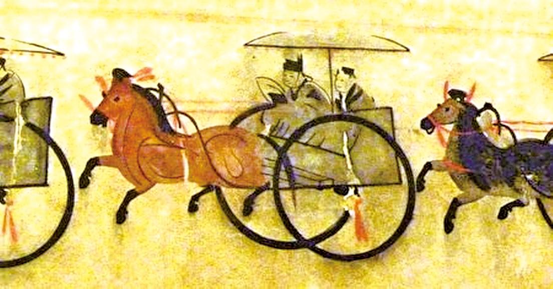 圖為東漢馬戰車(John Hill/Wikimedia Commons)