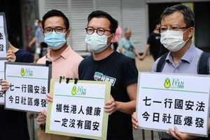 本港爆第3波疫情 民協憂國安人員是病源 要求國安武警來港先隔離