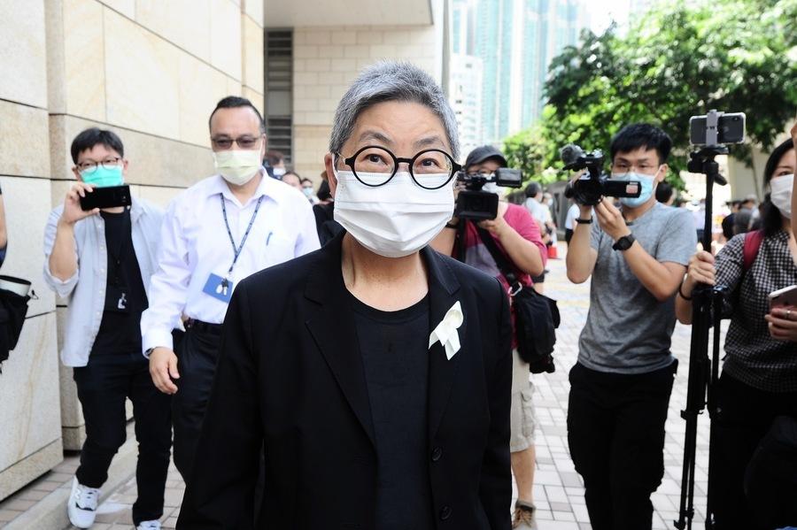 吳靄儀獲頒國際人權獎 首屆得主為「709」律師王宇