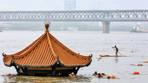 三峽洩洪  洞庭湖到上海水位超警戒