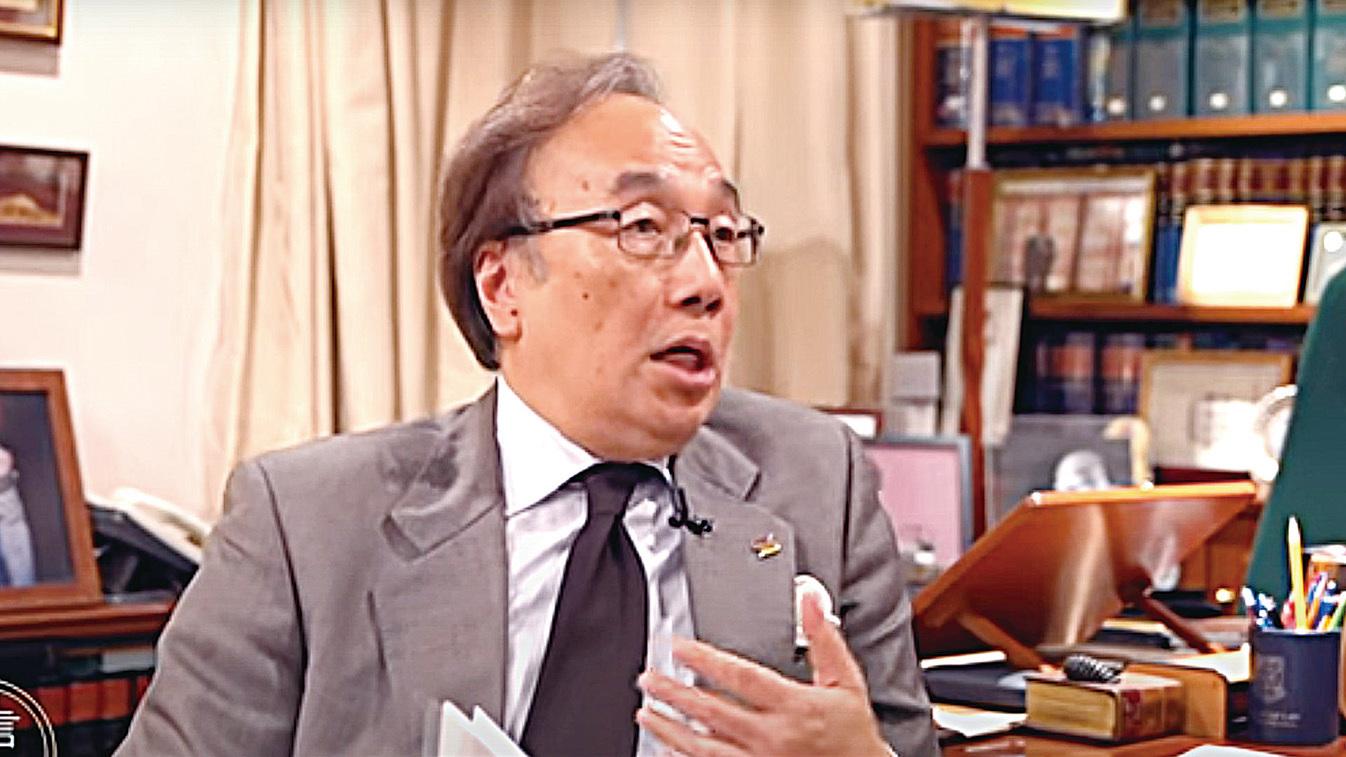 香港公民黨主席、資深大律師梁家傑。(採訪影片截圖)