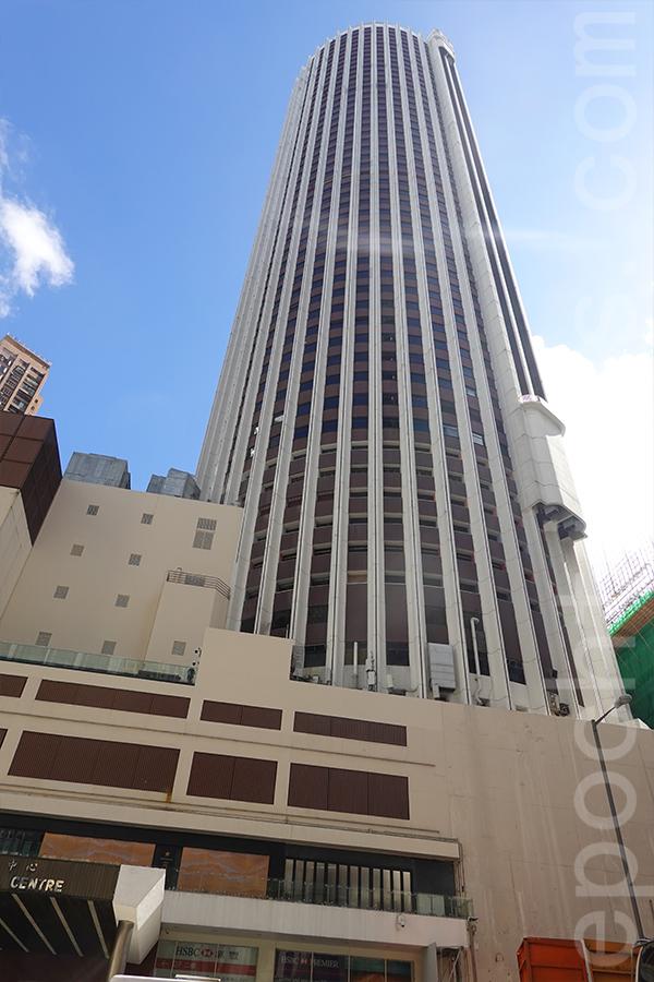 合和中心落成後帶動了附近一帶的發展,灣仔逐步轉型為香港一個主要商業中心。(曾蓮/大紀元)