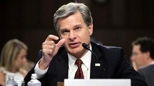 上海國安局覆蓋美國  FBI局長:中共滲透不擇手段