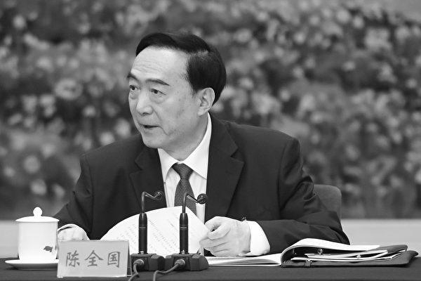 7月9日,美國國務院宣佈制裁3名中共高官,首次包括中國共產黨中央政治局委員、新疆維吾爾自治區黨委書記陳全國。(Etienne Oliveau/Getty Images)