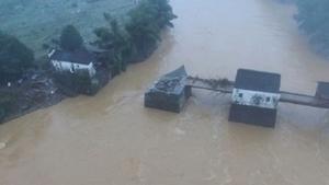 中國洪災沖毀上百處古蹟 官稱「皮外傷」