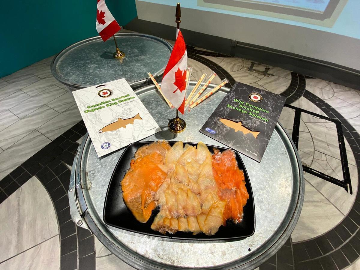 來自加拿大無污染海域野生海產。(公關提供)