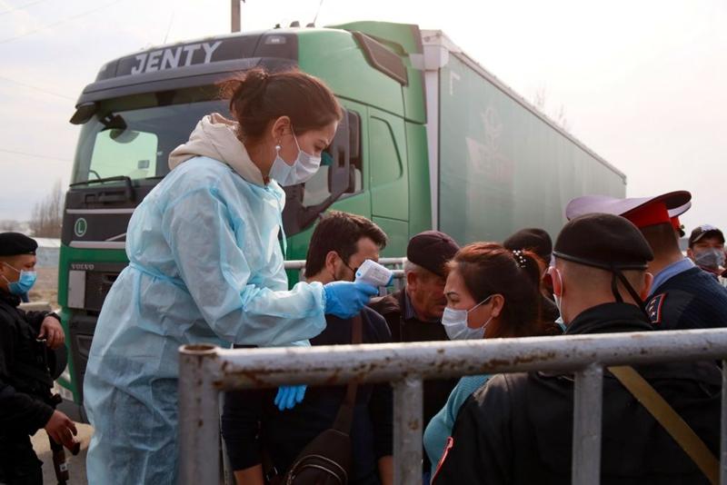 中共官方炒作哈薩克斯坦出現不明肺炎疫情,遭哈國怒斥是「假新聞」。(RUSLAN PRYANIKOV/AFP via Getty Images)