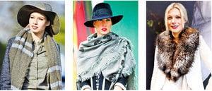 女人學會這樣戴圍巾 時尚品味兼顧