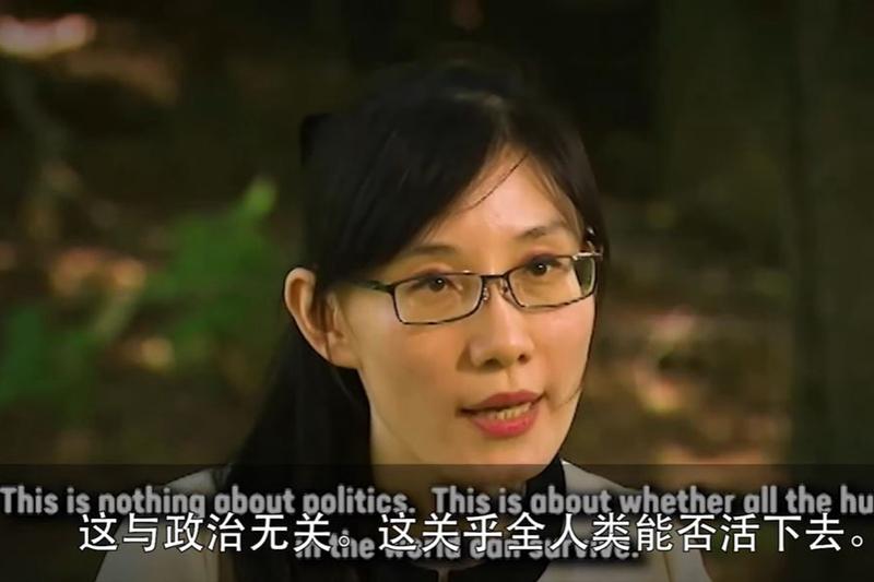 逃亡美國的原香港大學病毒學專家閻麗夢日前接受美媒專訪,揭露中共政府掩蓋中共病毒(武漢肺炎)疫情的驚人真相。(影片截圖)