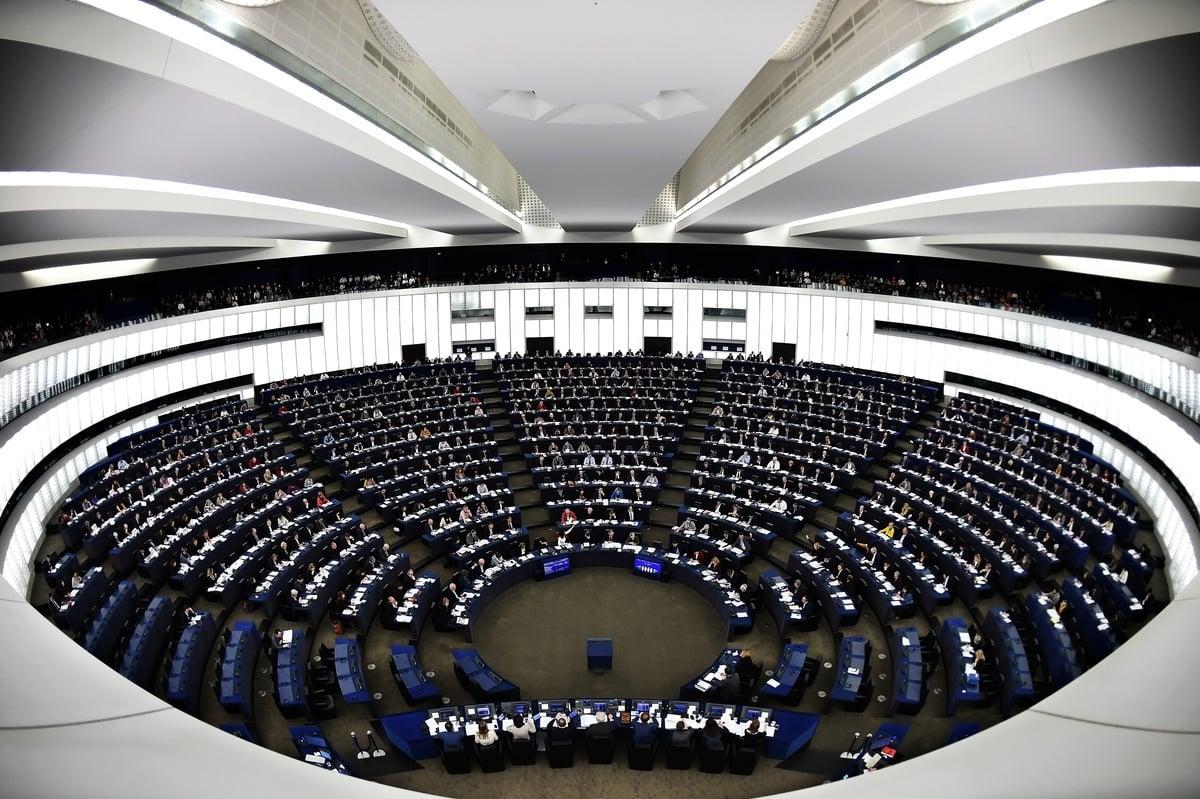 歐洲議會3月14日壓倒性通過決議,敦促歐盟層級、以及28個成員國,都各自制定類似美國的《全球馬格尼茨基人權問責法》的制裁機制。圖為示意圖。(AFP)