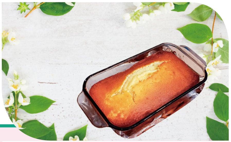 【梁廚美食】烤牛油磅蛋糕 Pound cake
