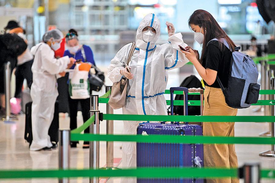 《內幕》文件洩露 :中共為防疫 嚴控國民回國