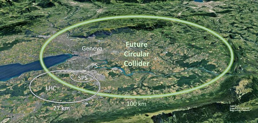 CERN計劃建百公里粒子加速器