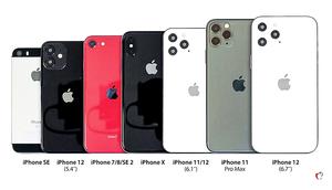 iPhone 12外觀尺寸曝光 充電頭和耳機或消失