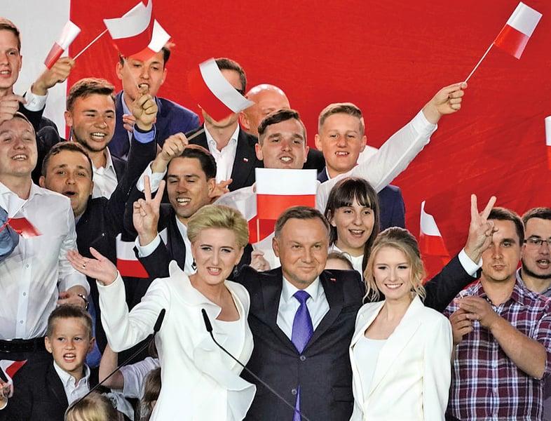 波蘭大選杜達連任 或重塑與美歐關係