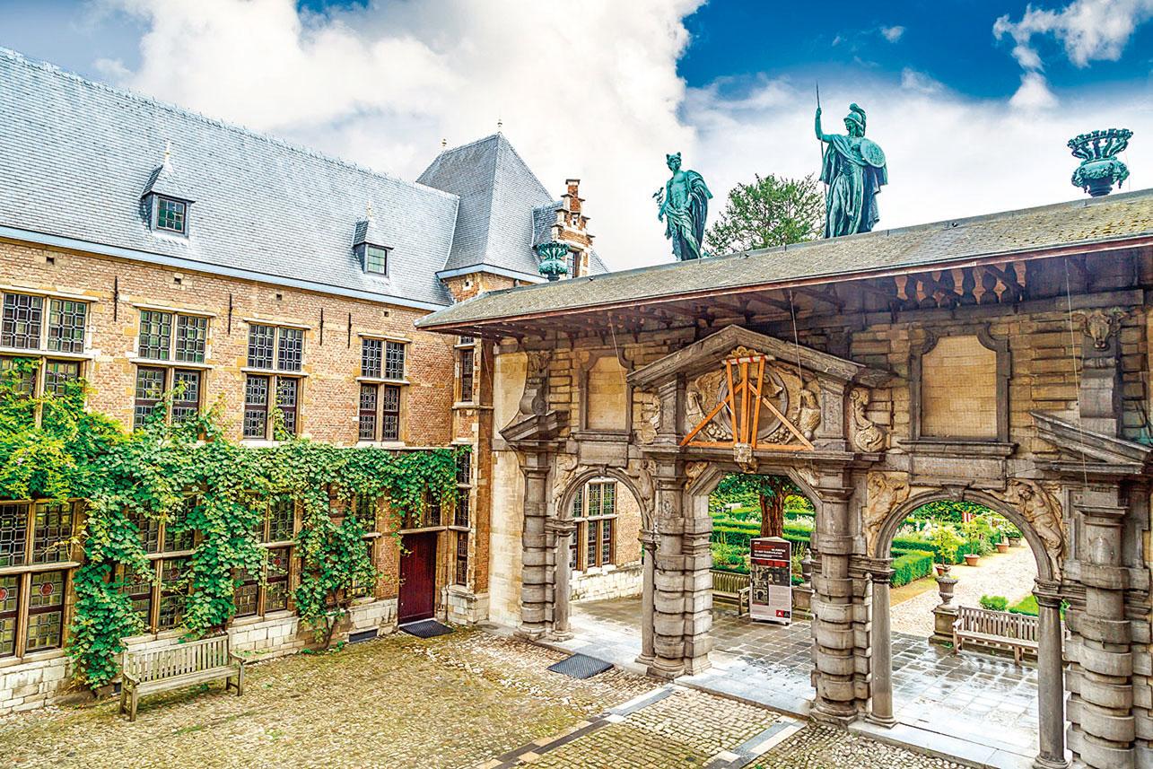 魯本斯位於安特衛普蓋的典型巴洛克豪宅,已成觀光景點。(shutterstock)