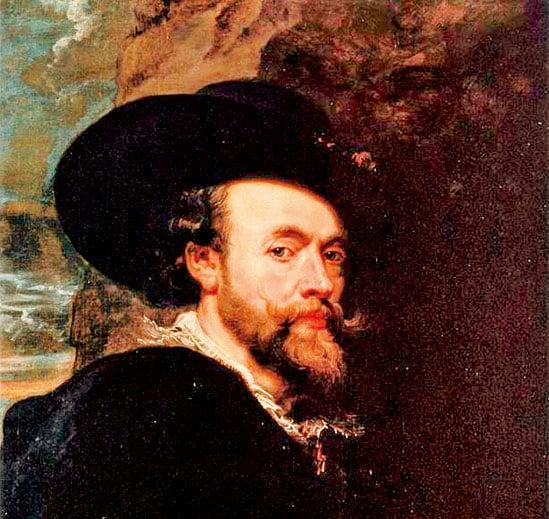 彼得魯本斯的《自畫像》,1623年。油彩、畫板,85.7x 62.2公分。王家收藏信託,白金漢宮,倫敦。(公有領域)