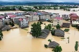 長江在武漢成懸河?四水夾擊將迎大洪峰