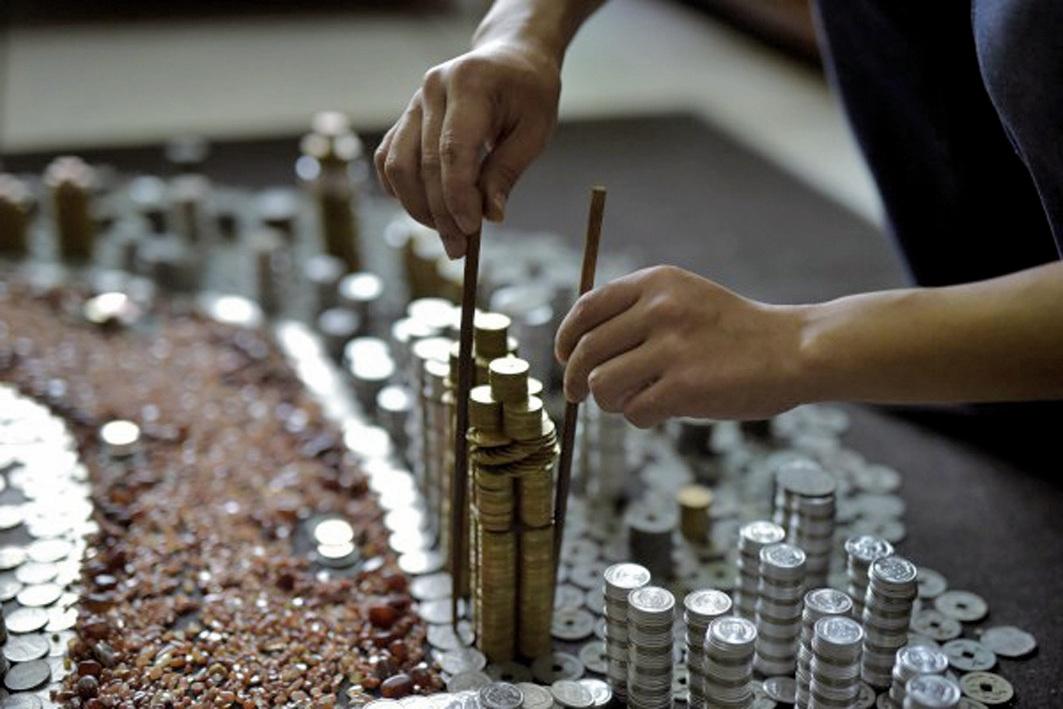 央企和國企把大把資金投入到房地產市場、頻頻製造「地王」。 (Getty Images)