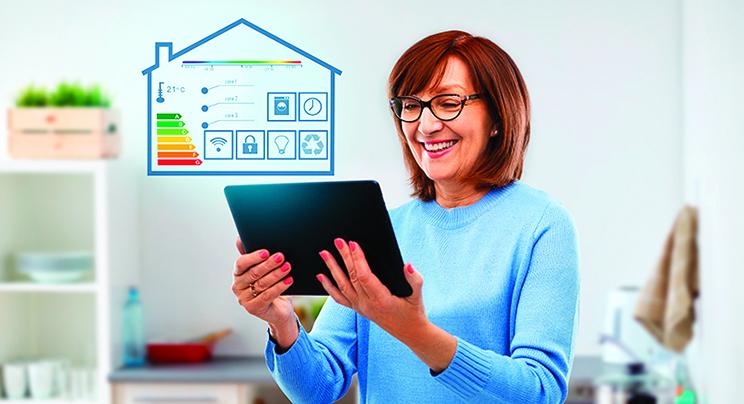 自動化家居可以簡化生活,同時也能提高能源使用效率。