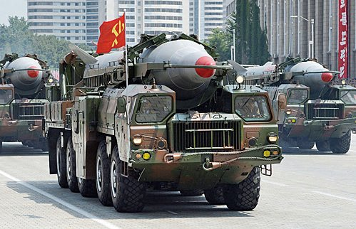 北韓又挑釁 中程導彈墜日經濟海域
