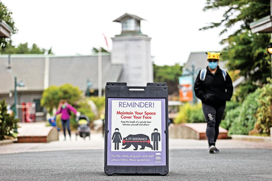 加州恢復嚴格防疫限制措施