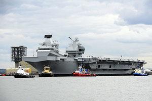 英「女王號」航母將部署印太 與美日聯手對抗中共