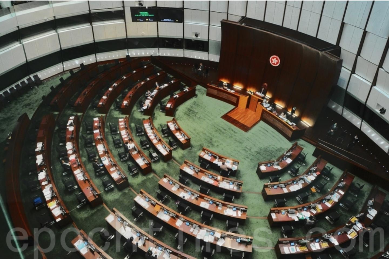 立法會今日(7月15日)舉行本屆會期最後一次大會會議。接近下午4時許,會議廳內因在席議員不足法定人數,最終流會。(大紀元資料圖片)