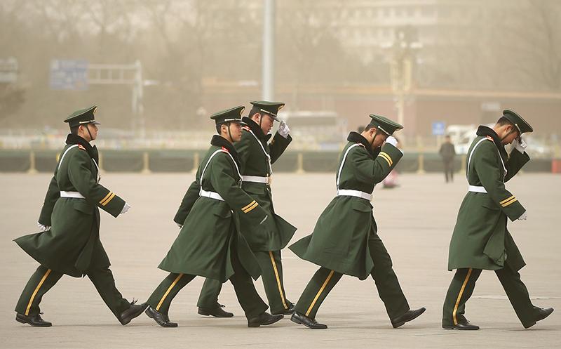█ 習近平最近清洗中共公安部高層,多人被查處、免職或調職。 (Feng Li/Getty Images)