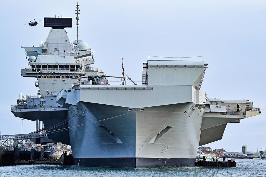 英擬部署最大新航母到亞太