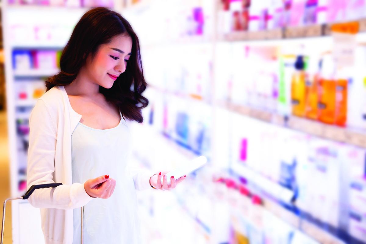 記得選購標示完整,且適合自己膚質的產品。